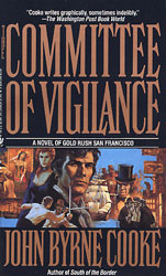 cover illustration for hardcover edition of The Committee of Vigilance