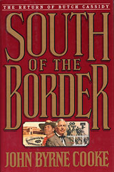 cover illustration for hardcover edition of South of the Border